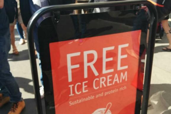 Insect Ice Cream near Borough Market